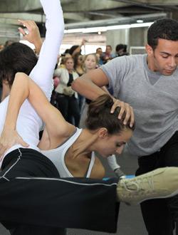 Dança das Imagens – Photos exhibition of São Paulo Dance Company (2012)